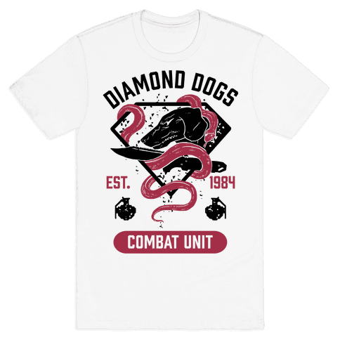 Diamond Dogs Combat Unit Mens T-Shirt