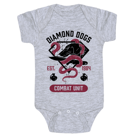 Diamond Dogs Combat Unit Baby Onesy