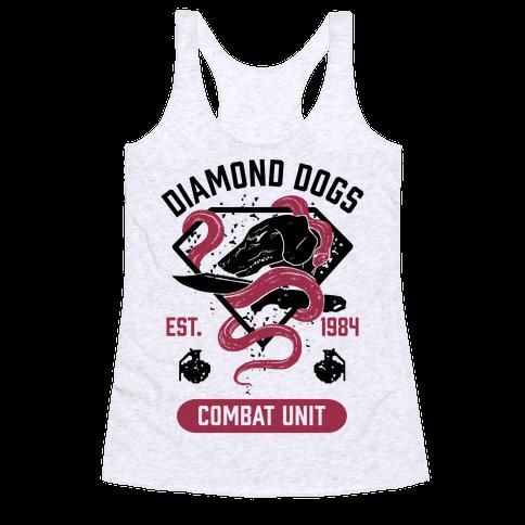 Diamond Dogs Combat Unit Racerback Tank Top