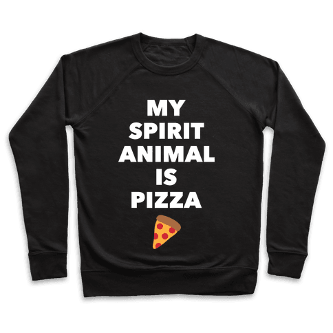 Pizza Spirit Animal Pullover