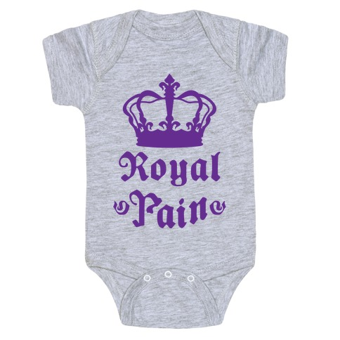 Royal Pain Baby Onesy