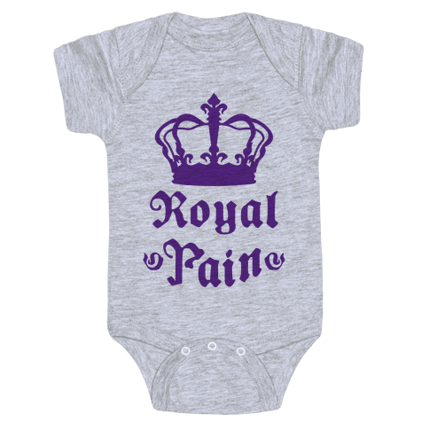 Royal Pain Baby Onesy