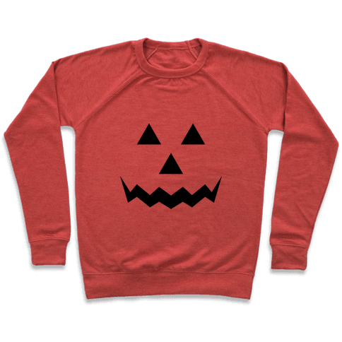 Pumpkin Face Costume Pullover