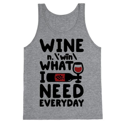 Wine Definition Tank Top