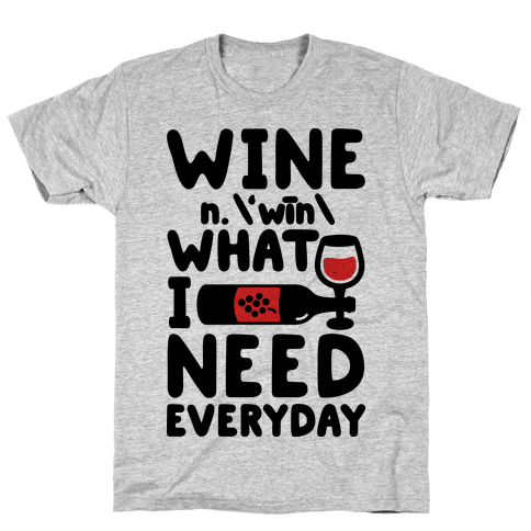 Wine Definition Mens T-Shirt
