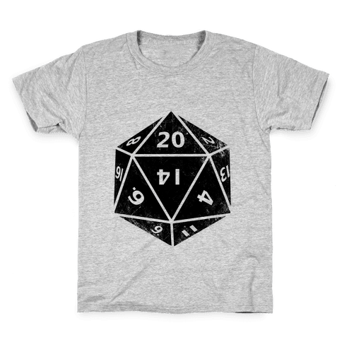 D20 Die Kids T-Shirt