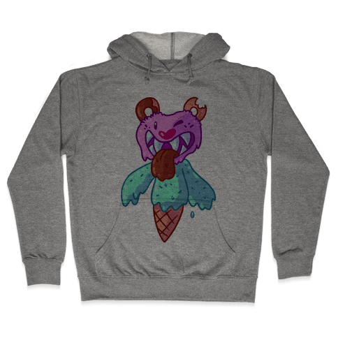 Ice Cream Bear Hooded Sweatshirt