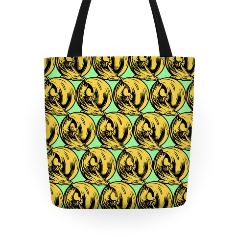 Sleeping Dragon (gold) Tote