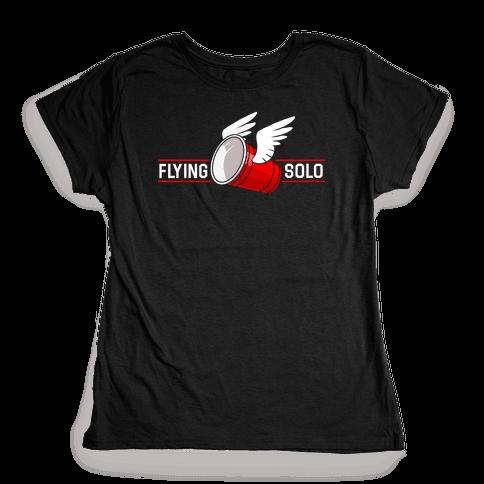 Flying Solo Womens T-Shirt