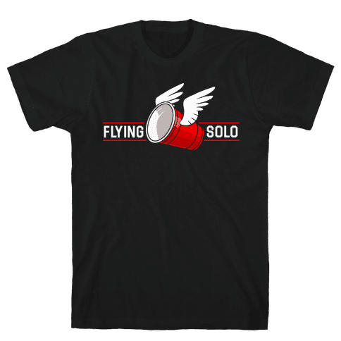 Flying Solo Mens T-Shirt
