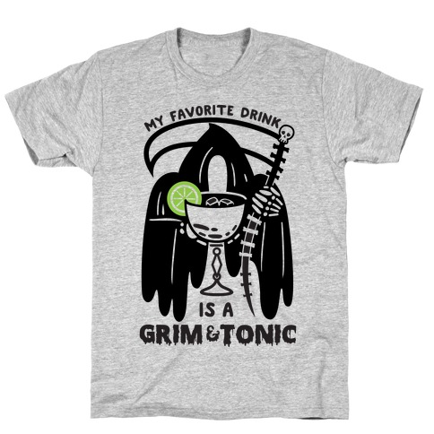 Grim & Tonic Mens T-Shirt