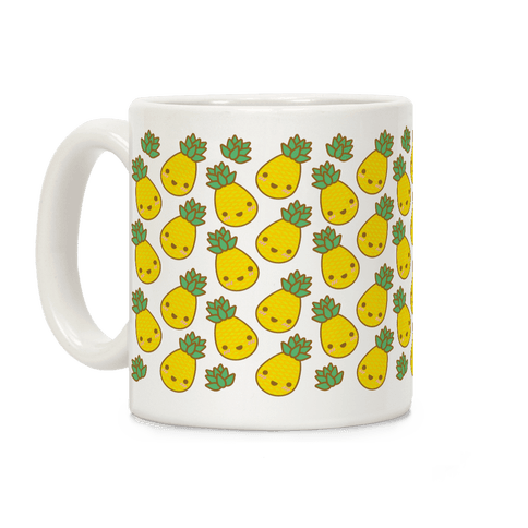 Kawaii Pineapple Coffee Mug