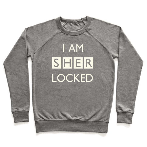 I am Sherlocked Pullover