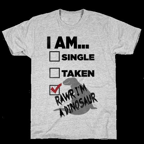 Rawr I'm A Dinosaur! Mens T-Shirt