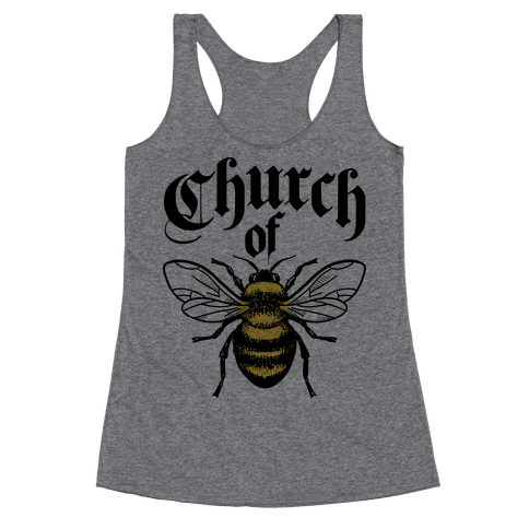 Church Of Bee Racerback Tank Top
