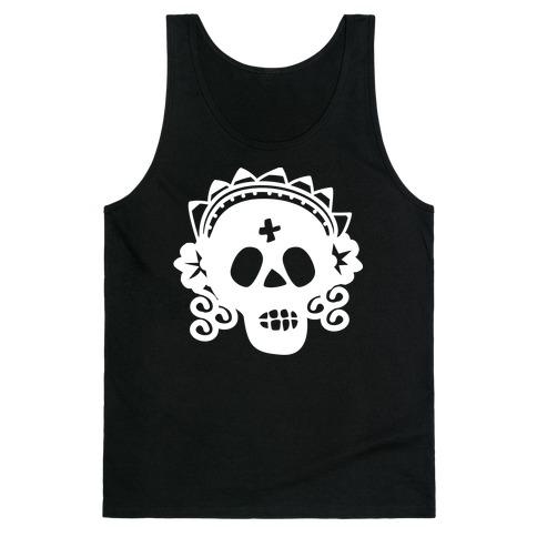 Skull Bride Tank Top