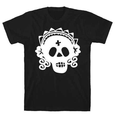 Skull Bride Mens T-Shirt