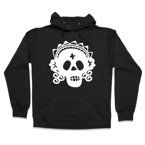 Skull Bride Hooded Sweatshirt