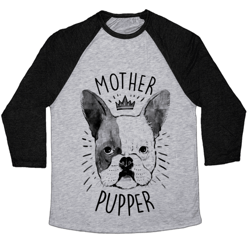 Motherpupper Baseball Tee