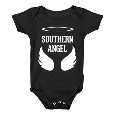 Southern Angel Baby Onesy