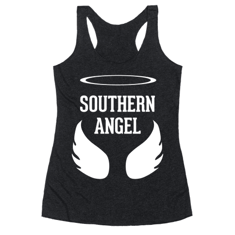 Southern Angel Racerback Tank Top