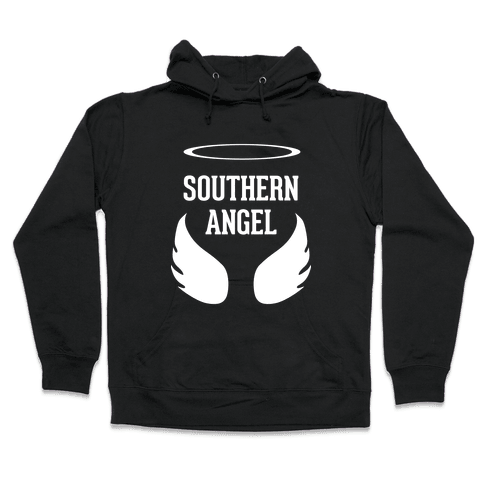 Southern Angel Hooded Sweatshirt