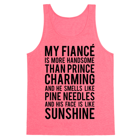 My Fiance (Prince Charming) Tank Top