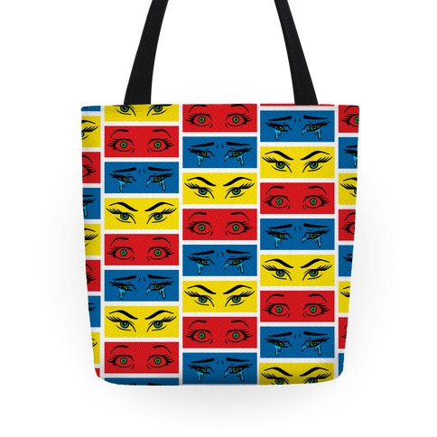 Pop Art Eyes Tote