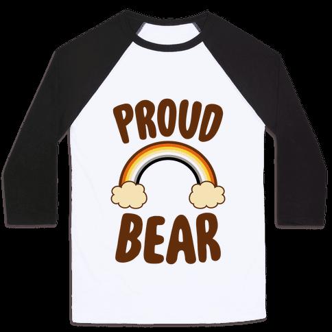 Proud Bear Baseball Tee