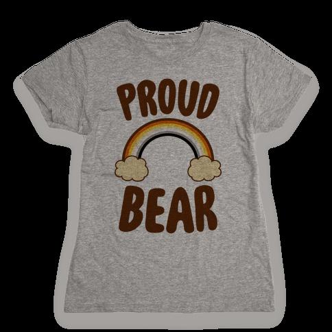 Proud Bear Womens T-Shirt