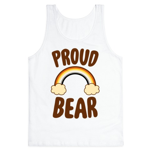 Proud Bear Tank Top