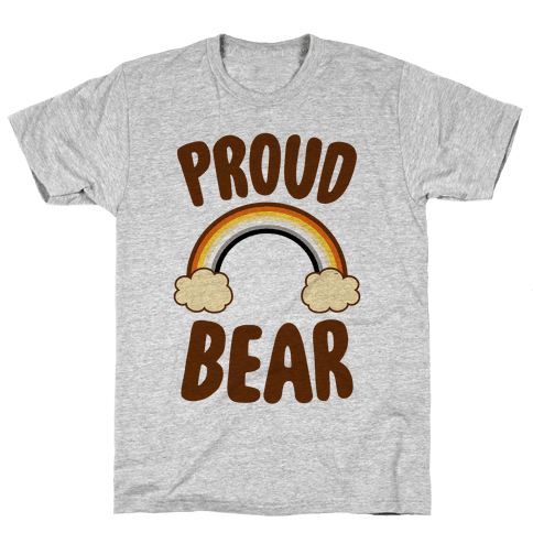 Proud Bear Mens T-Shirt