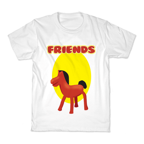 Clay Friends (right) Kids T-Shirt