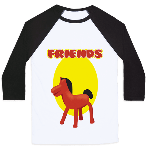 Clay Friends (right) Baseball Tee