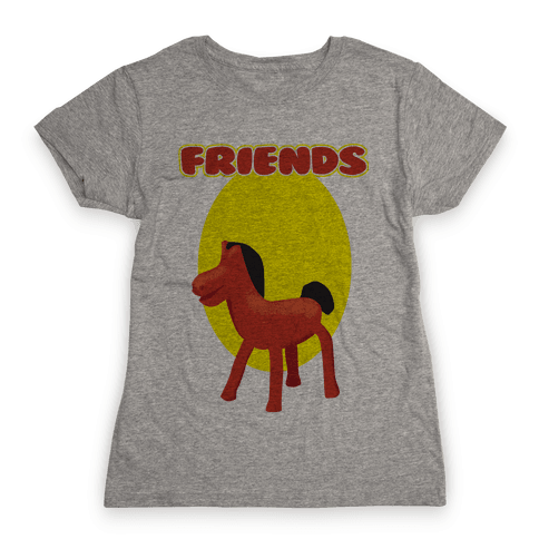 Clay Friends (right) Womens T-Shirt