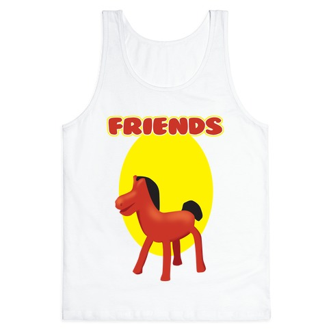 Clay Friends (right) Tank Top