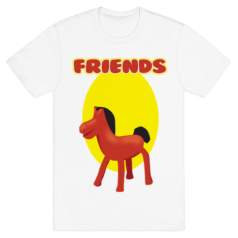 Clay Friends (right) Mens T-Shirt
