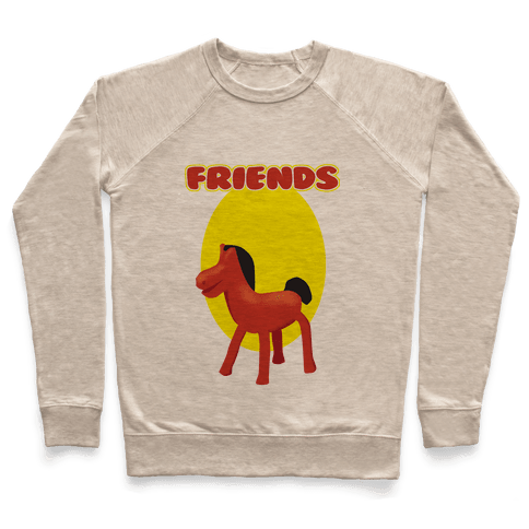 Clay Friends (right) Pullover