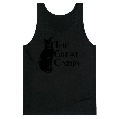 The Great Catsby Tank Top
