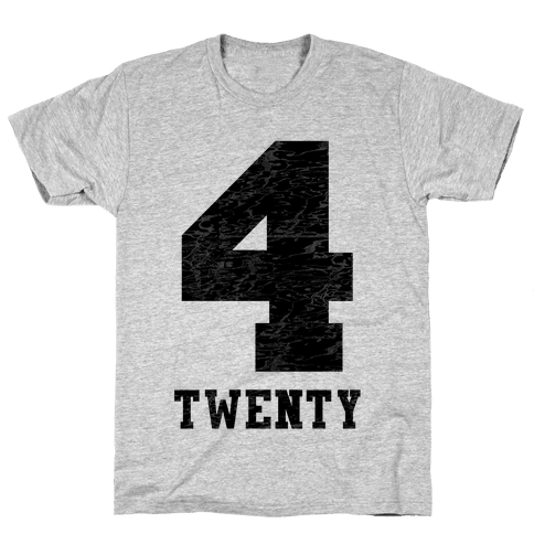 4 Twenty (smoker tank) Mens T-Shirt