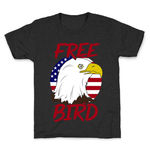 Free Bird Kids T-Shirt