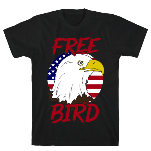 Free Bird Mens T-Shirt