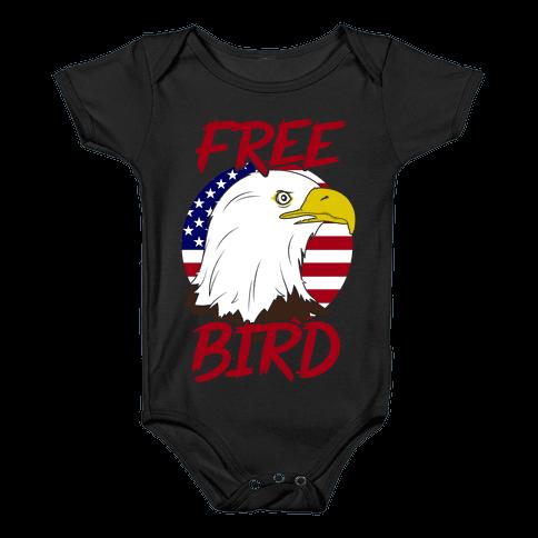 Free Bird Baby Onesy