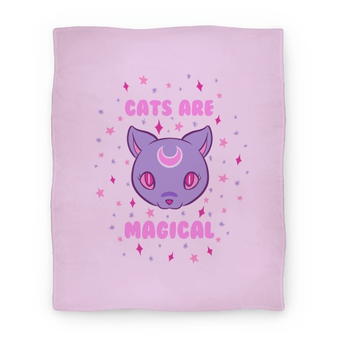 Cats Are Magical Blanket