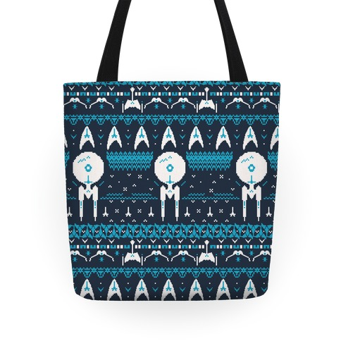 Captain's Ugly Sweater Pattern Tote