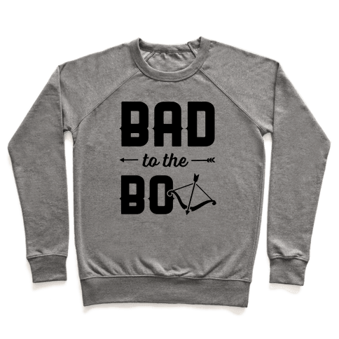 Bad To The Bow Pullover