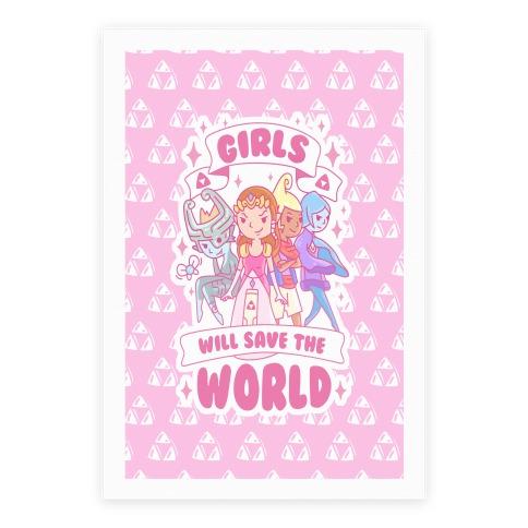 Zelda Girls Will Save The World Parody