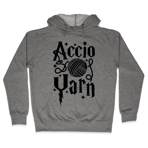Accio Yarn Hooded Sweatshirt