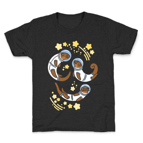 Otters In Space Kids T-Shirt