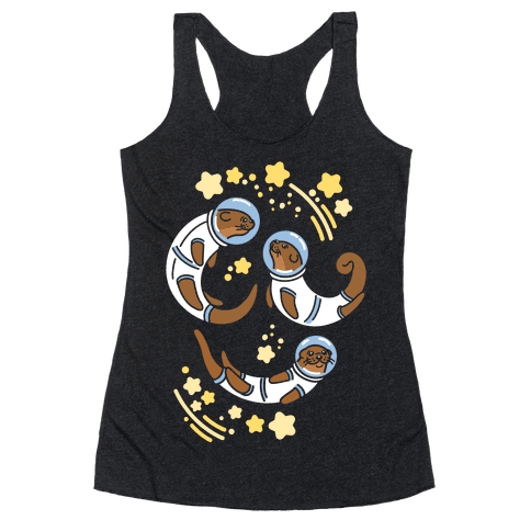 Otters In Space Racerback Tank Top